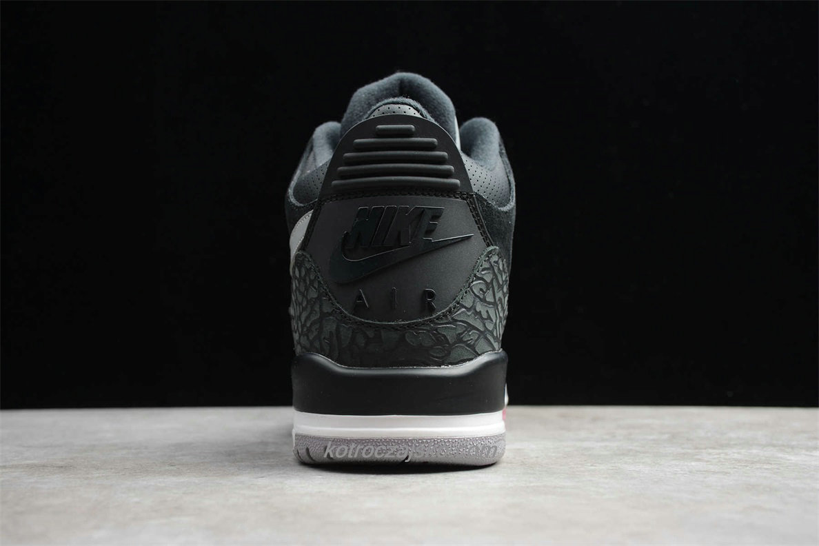Jordan 3 RETRO TH SP Herre Svart/Grå Basketball Sko (CK4348 007)